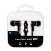 Headset W Mic Crystal Case